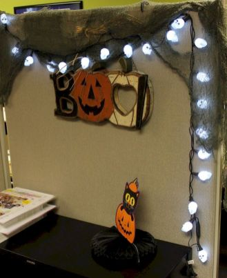 Inspiring Decoration Ideas of Halloween Cubical Office (64)