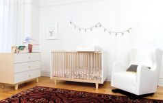 Modern Baby Nursery Rooms Ideas with Simple and Colorful Concepts with Pattern and Unique Baby Crib Design Part 15