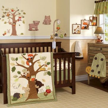 Modern Baby Nursery Rooms Ideas with Simple and Colorful Concepts with Pattern and Unique Baby Crib Design Part 61