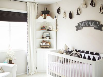 Modern Baby Nursery Rooms Ideas with Simple and Colorful Concepts with Pattern and Unique Baby Crib Design Part 71
