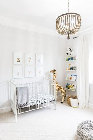 Modern Baby Nursery Rooms Ideas with Simple and Colorful Concepts with Pattern and Unique Baby Crib Design Part 8