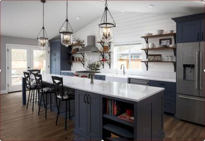 Modern Farmhouse Kitchens Inspirations Part 37