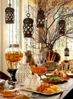 Mystical Halloween Lighting Ideas with Spellbinding candle and light string effect Part 1