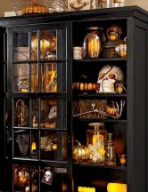 Mystical Halloween Lighting Ideas with Spellbinding candle and light string effect Part 10