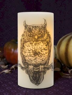 Mystical Halloween Lighting Ideas with Spellbinding candle and light string effect Part 15