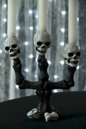 Mystical Halloween Lighting Ideas with Spellbinding candle and light string effect Part 31
