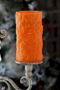Mystical Halloween Lighting Ideas with Spellbinding candle and light string effect Part 39