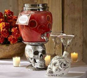 Mystical Halloween Lighting Ideas with Spellbinding candle and light string effect Part 41