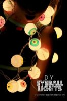 Mystical Halloween Lighting Ideas with Spellbinding candle and light string effect Part 43
