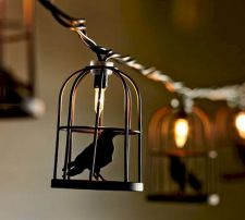 Mystical Halloween Lighting Ideas with Spellbinding candle and light string effect Part 73