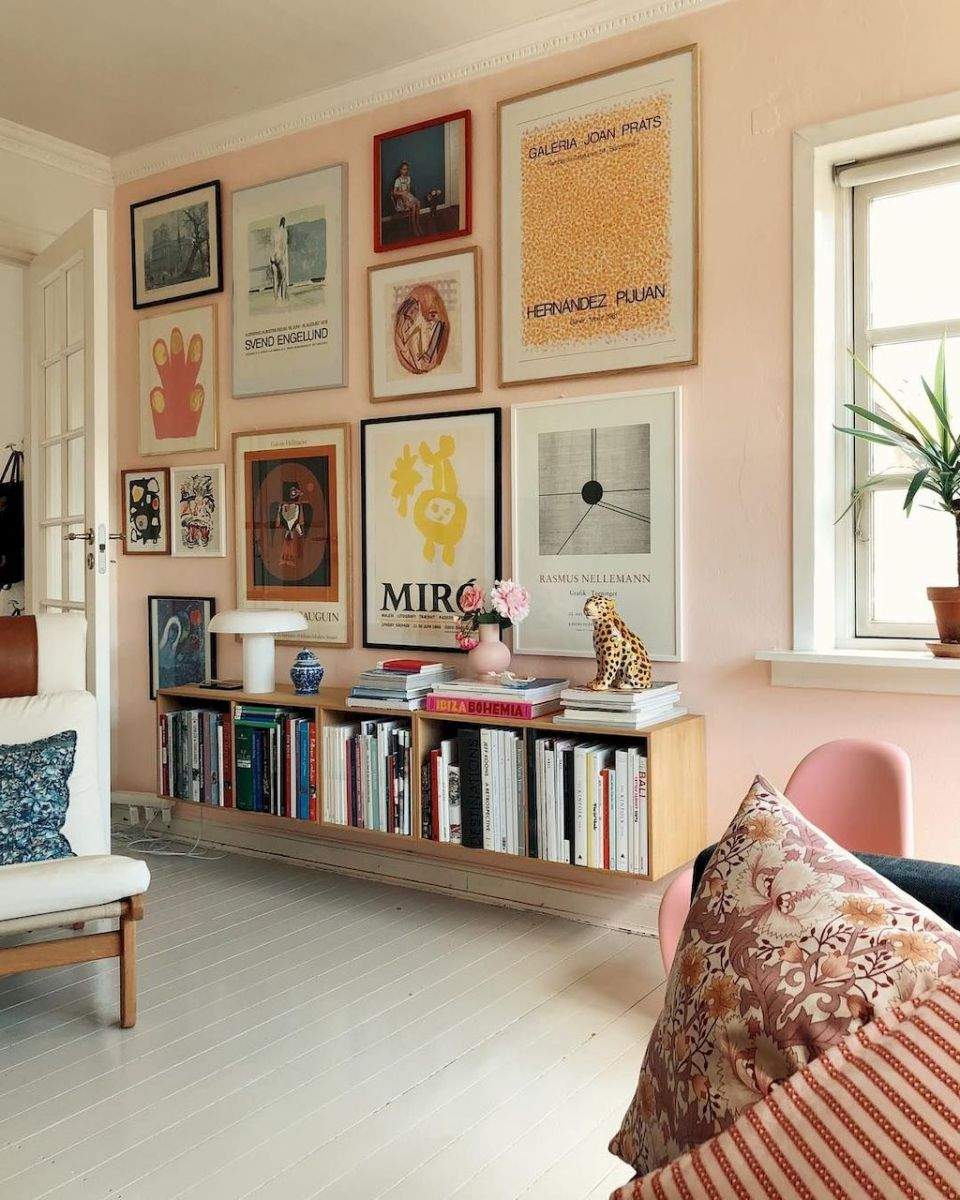 Simple image and Arrangement Tips to Make your Own Gallery Wall Ideas Part 12