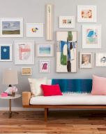 Simple image and Arrangement Tips to Make your Own Gallery Wall Ideas Part 17
