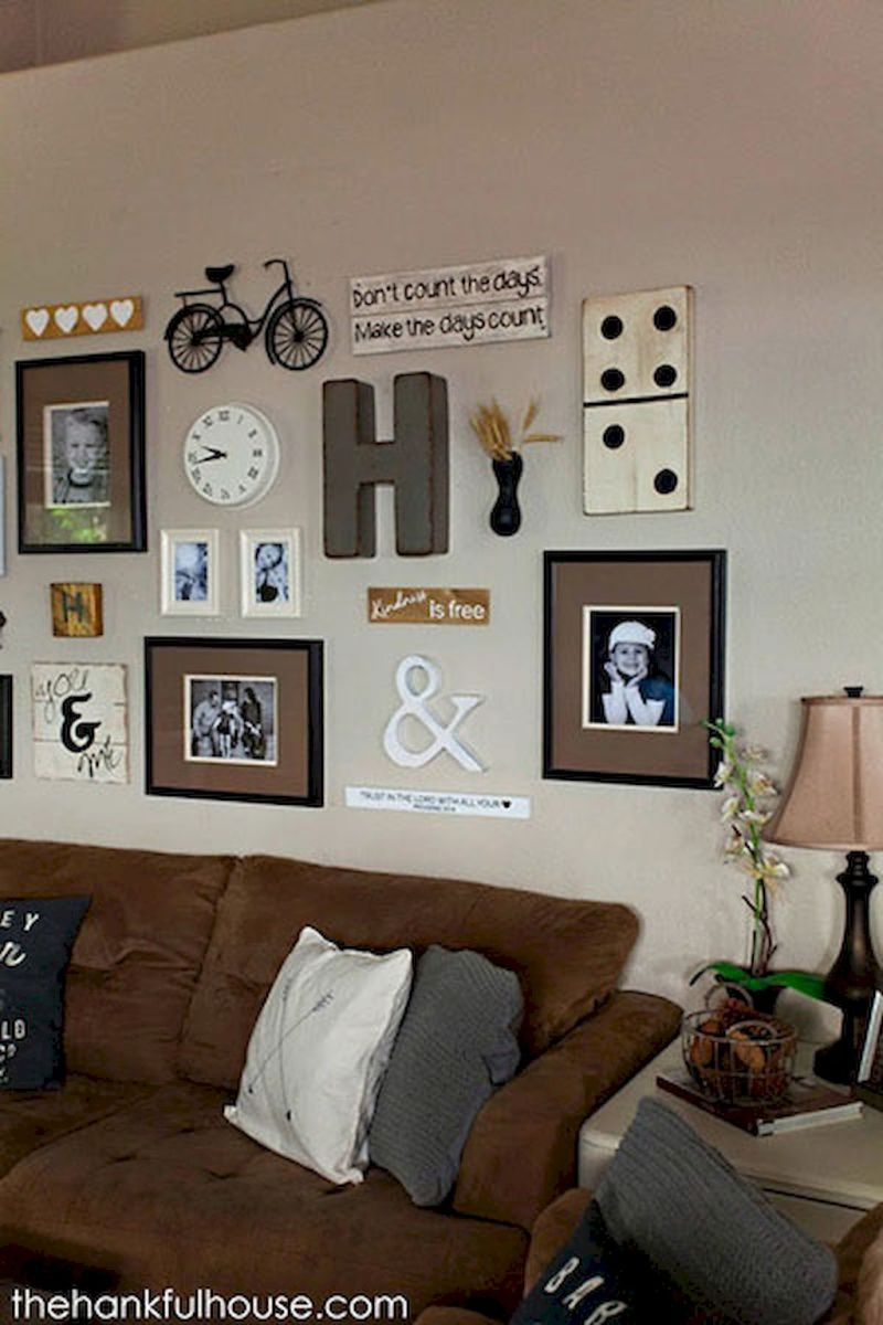 Simple image and Arrangement Tips to Make your Own Gallery Wall Ideas Part 48