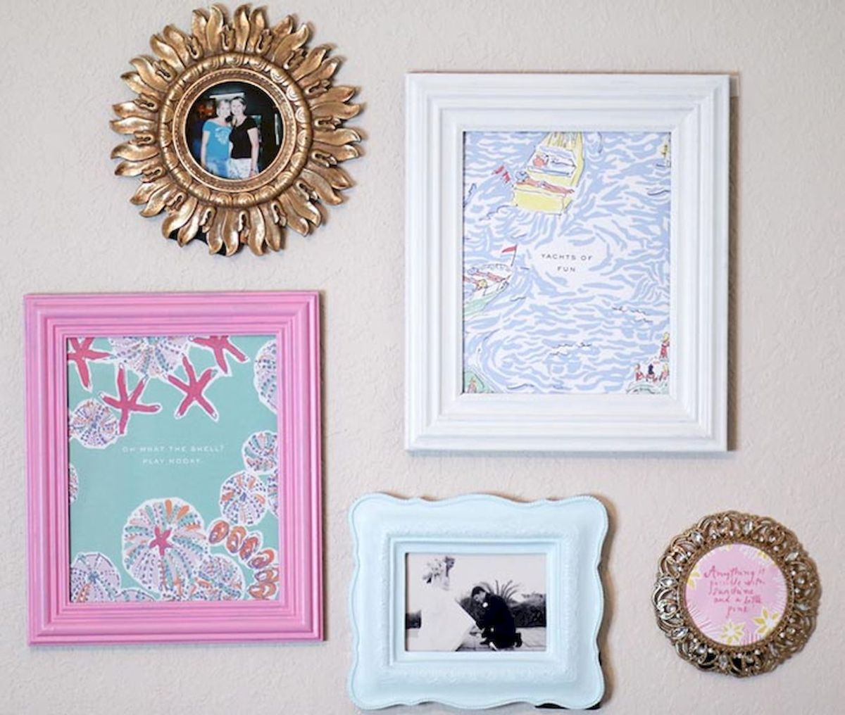 Simple image and Arrangement Tips to Make your Own Gallery Wall Ideas Part 51