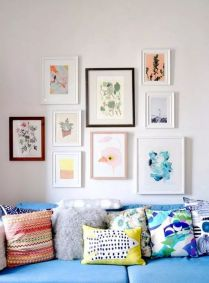 Simple image and Arrangement Tips to Make your Own Gallery Wall Ideas Part 64