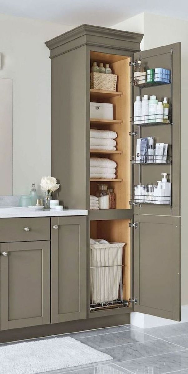 Small bathroom organization Ideas that will add more spaces during relaxation Part 23