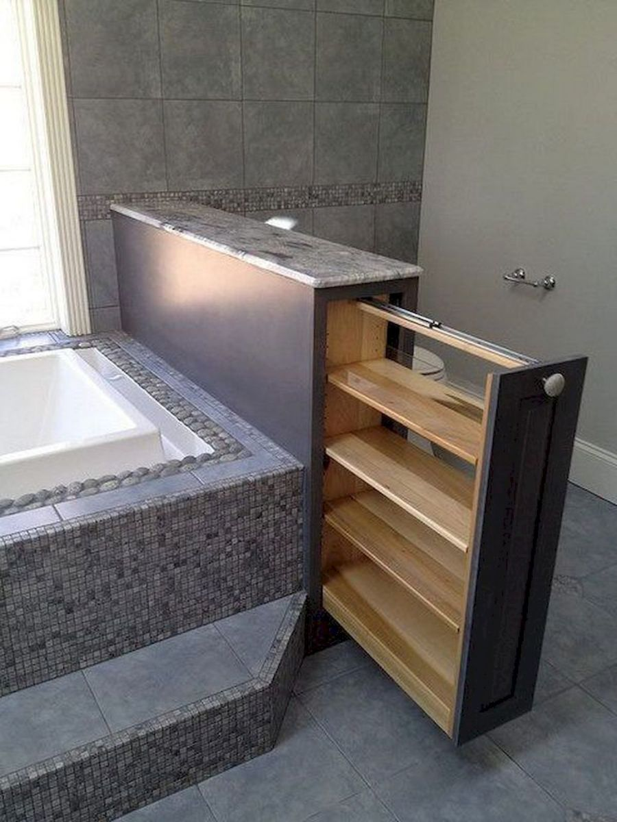 Small bathroom organization Ideas that will add more spaces during relaxation Part 24