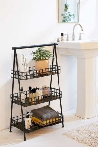 Small bathroom organization Ideas that will add more spaces during relaxation Part 26