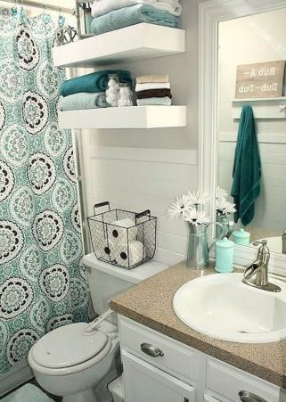 Small bathroom organization Ideas that will add more spaces during relaxation Part 3