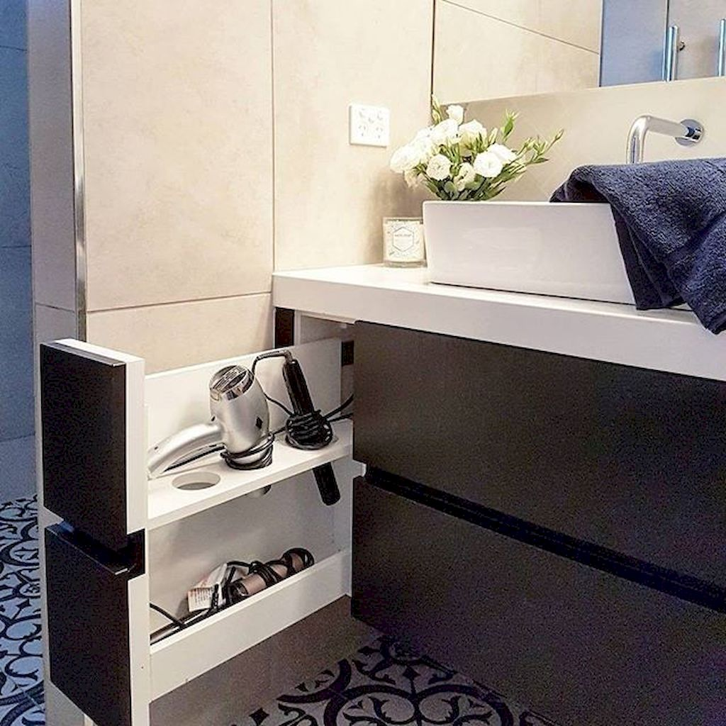 Small bathroom organization Ideas that will add more spaces during relaxation Part 33