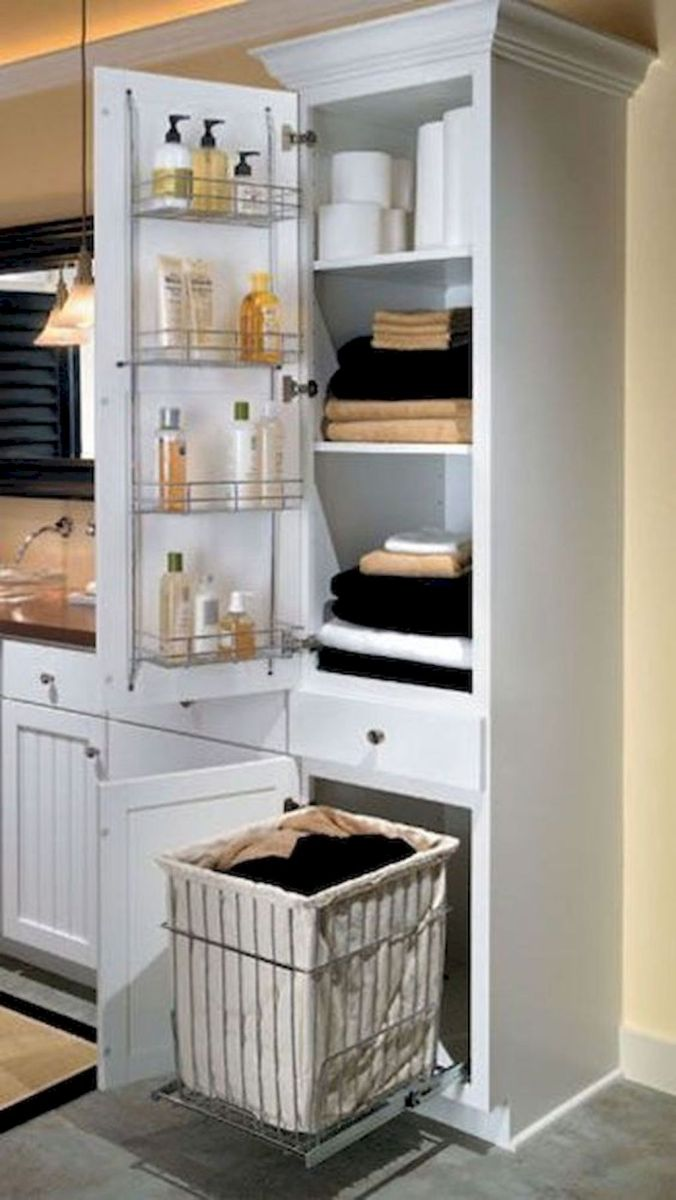 Small bathroom organization Ideas that will add more spaces during relaxation Part 35