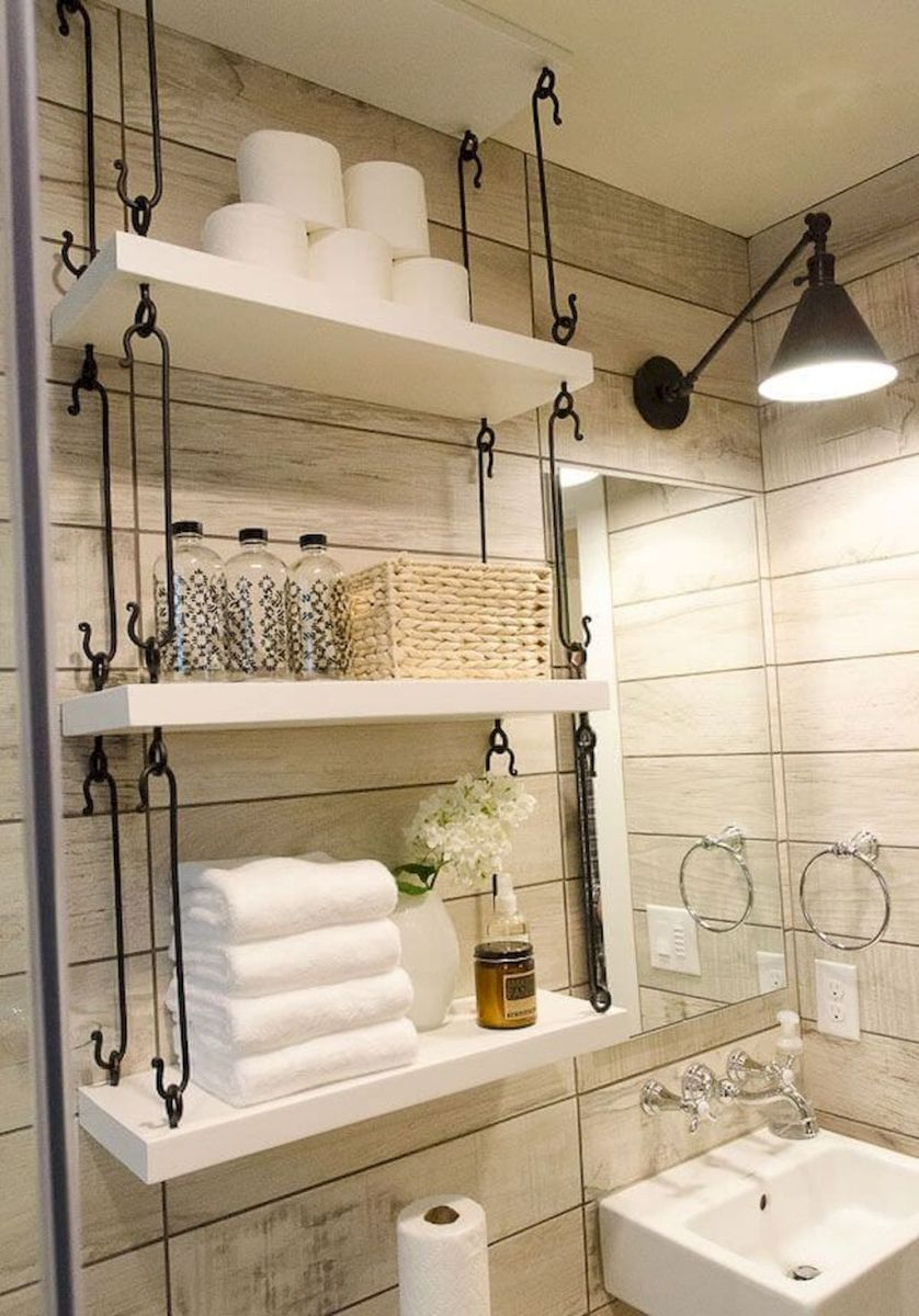 Small bathroom organization Ideas that will add more spaces during relaxation Part 8