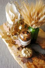 Thanksgiving Celebration Dining Table Centerpieces Idea Part 18