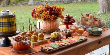 Thanksgiving Celebration Dining Table Centerpieces Idea Part 2