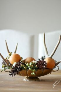 Thanksgiving Celebration Dining Table Centerpieces Idea Part 22