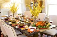 Thanksgiving Celebration Dining Table Centerpieces Idea Part 41