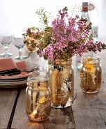 Thanksgiving Celebration Dining Table Centerpieces Idea Part 60