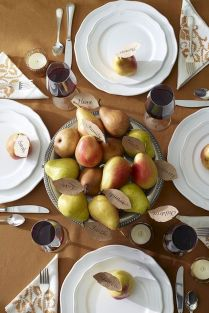 Thanksgiving Celebration Dining Table Centerpieces Idea Part 62