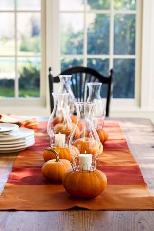 Thanksgiving Celebration Dining Table Centerpieces Idea Part 67