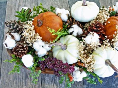 Thanksgiving Floral Arrangement Ideas and Autumn Flowers Decoration Best Used for Thanksgiving centerpiece and Decorations Part 37