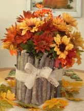 Thanksgiving Floral Arrangement Ideas and Autumn Flowers Decoration Best Used for Thanksgiving centerpiece and Decorations Part 44