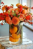 Thanksgiving Floral Arrangement Ideas and Autumn Flowers Decoration Best Used for Thanksgiving centerpiece and Decorations Part 6