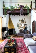 Artsy Bohemian Home with Colorful Decorating Concept Part 12
