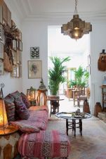 Artsy Bohemian Home with Colorful Decorating Concept Part 13