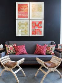 Artsy Bohemian Home with Colorful Decorating Concept Part 7