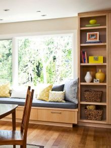 Bay Window Seating Decoration to Improve Your Comfort Part 5