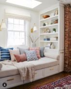 Bay Window seating with extra features Like Storage and Book Shelf Part 26