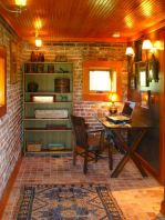 Brilliant Home Office Concept Marrying Farmhouse Design with Modern Touch Part 1