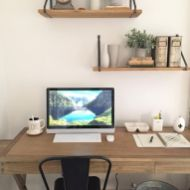 Brilliant Home Office Concept Marrying Farmhouse Design with Modern Touch Part 8