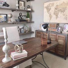Farmhouse Home Office Decoration Ideas Part 15