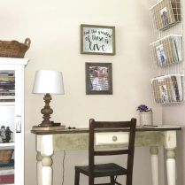 Farmhouse Home Office Decoration Ideas Part 26