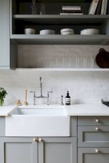 Inspiring Farmhouse Kitchen Sink for New Kitchen and Remodel Part 22