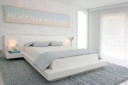 Most Wanted White Bedroom Decorating Ideas in Classy Finish Part 12