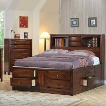 Platform Bed Ideas in Modern Design with Multi Functions Part 26