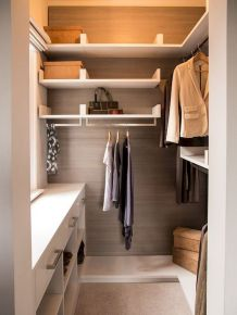 Small Closet Organization Trick to Space Up Your Storage Part 27