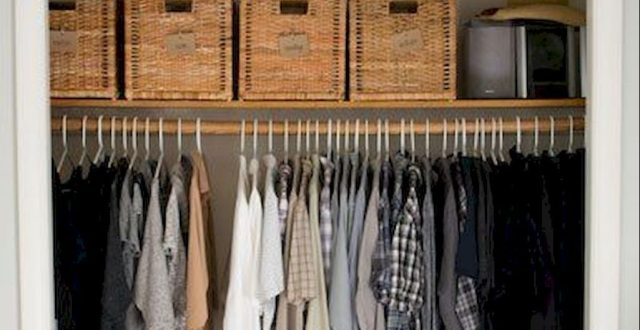 Smart Closet Organization Ideas to Make Extra Storage Part 31